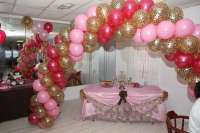 pink and leopard Baby Shower Party Ideas | Photo 10 of 23 ...