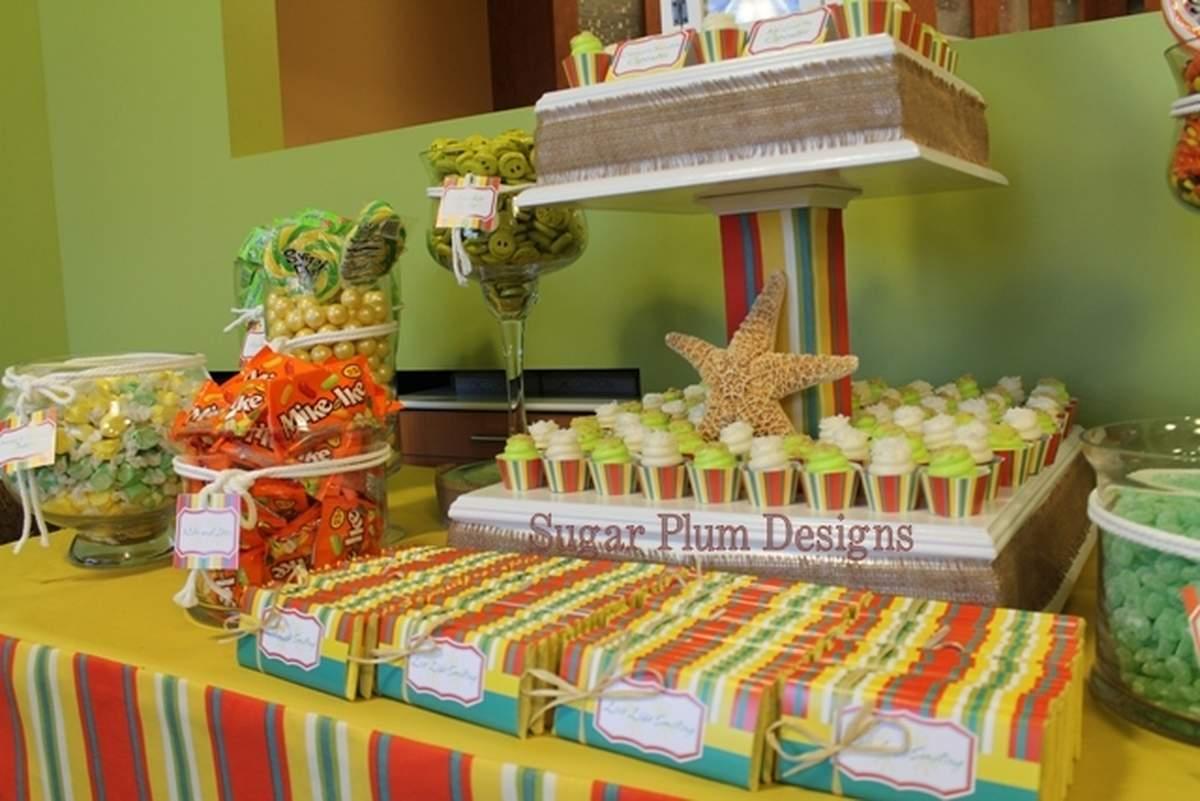 fiesta / beach theme Office Party Party Ideas