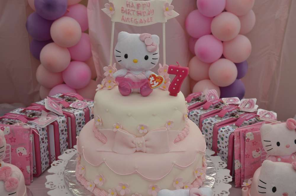 Hello Kitty Birthday Party Ideas Photo 1 Of 14 Catch My Party