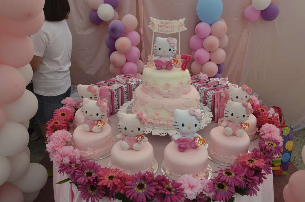 Hello Kitty Birthday Party Ideas Photo 2 Of 14 Catch My Party