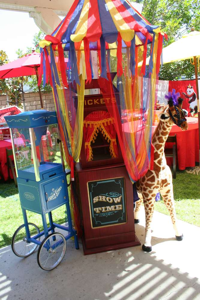 Circus Carnival Birthday Party Ideas Photo 5 Of 22