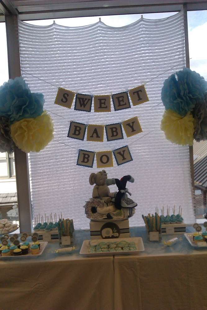 Desserts Shower Baby Shower Party Ideas Photo 1 Of 13 Catch My Party