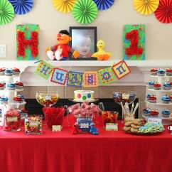 Nightmare Before Christmas Chair Swivel Living Room Ideas Sesame Street Birthday Party | Photo 1 Of 50 Catch My