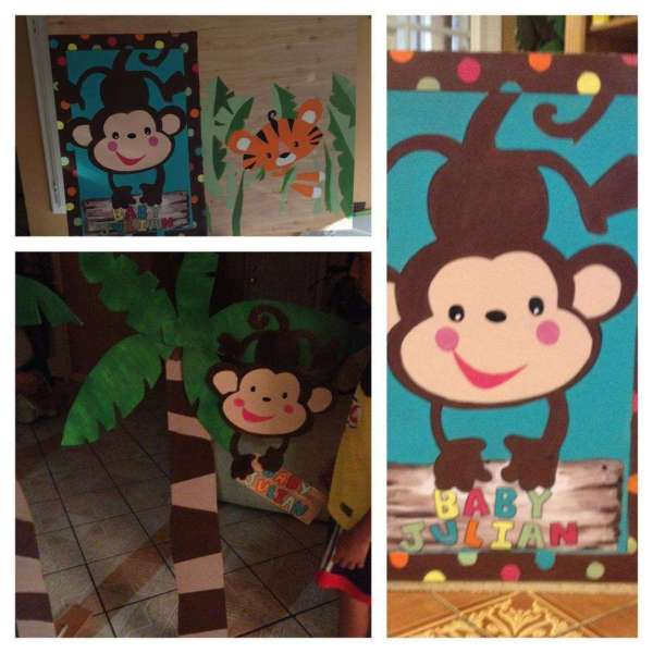 Animal Of Rainforest Fisher Baby Shower Party Ideas
