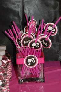 Barbie silhouette Birthday Party Ideas | Photo 1 of 9 ...