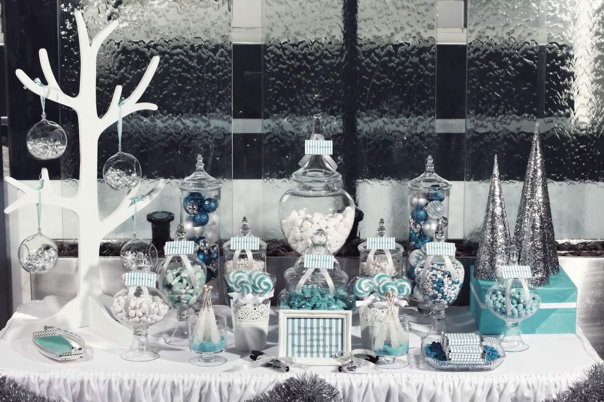 Winter Wonderland ChristmasHoliday Party Ideas Photo 9
