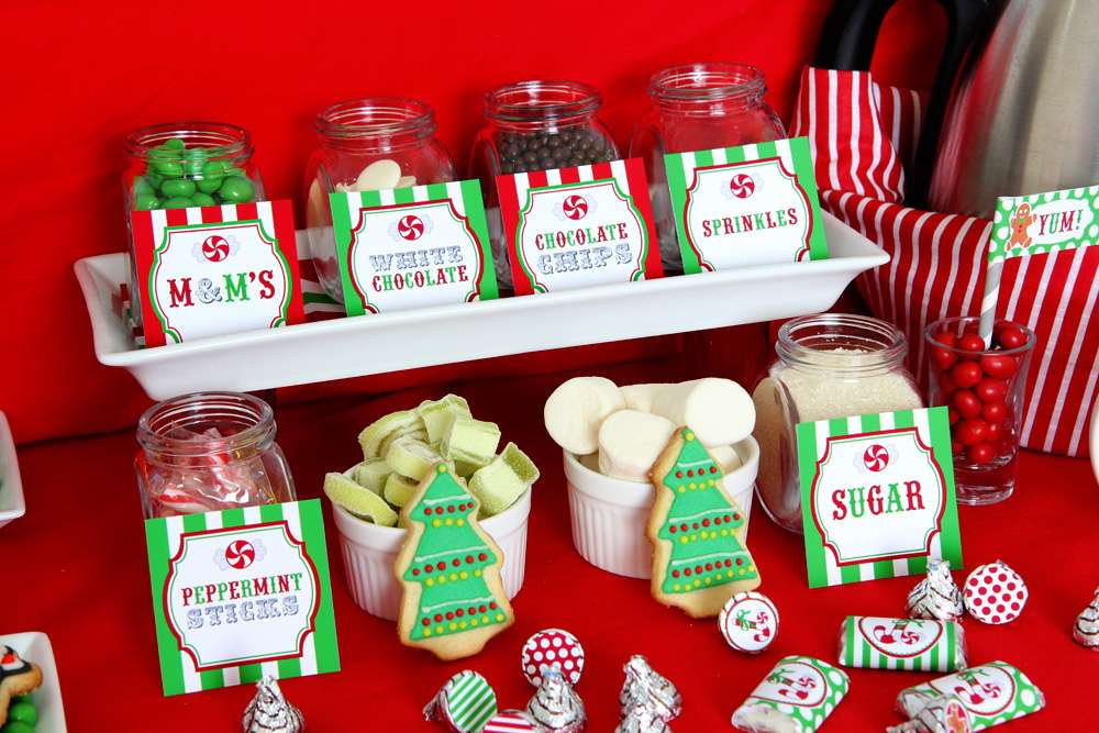 Gingerbread House Party Christmas Holiday Party Ideas Photo 1 Of