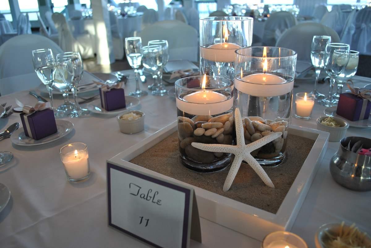 Purple And Champange Beach Wedding Wedding Party Ideas