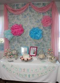 Baptism/Dedication Party Baptism Party Ideas | Photo 1 of ...