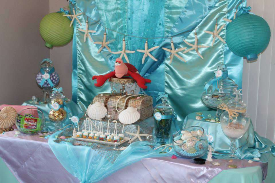The Little Mermaid Tea Party Party Ideas Photo 1 Of 20