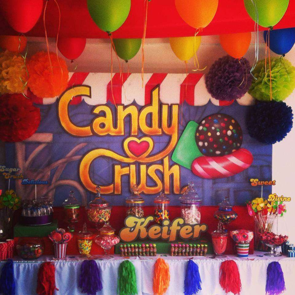 Candy Crush Birthday Party Ideas Photo 3 Of 4 Catch My