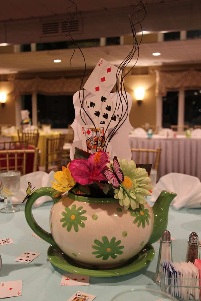 Mad Hatter Tea Party Birthday Party Ideas  Photo 1 of 32