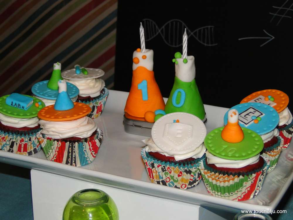 Mad Science Birthday Party Ideas Photo 2 Of 26 Catch