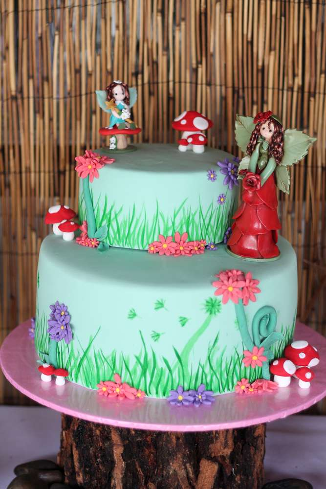 Enchanted Forest Woodland Fairy Birthday Party Ideas