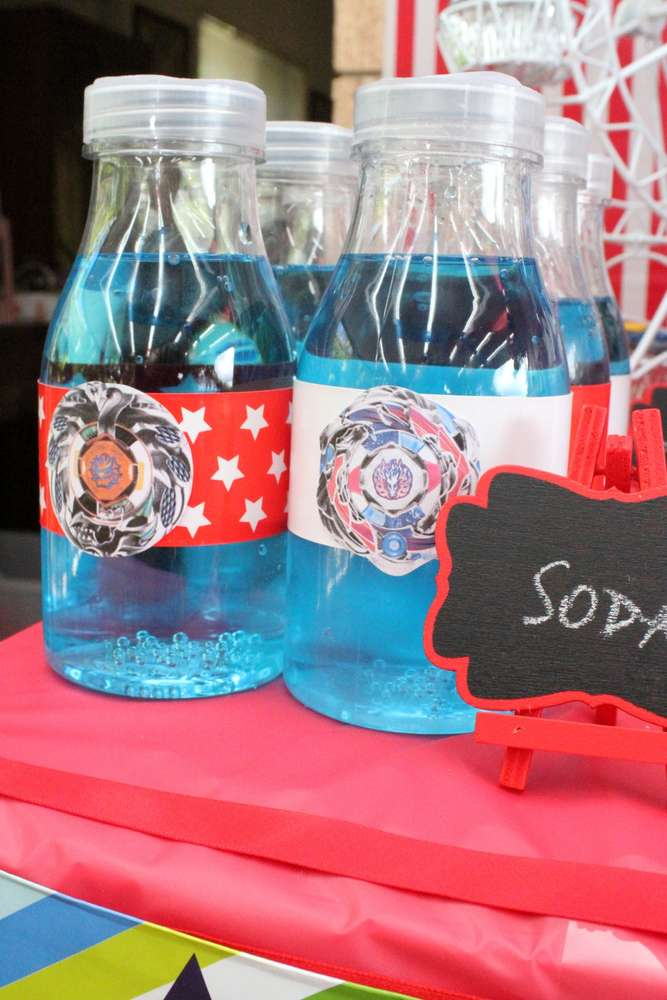 Beyblade Birthday Party Ideas Photo 1 Of 68 Catch My Party