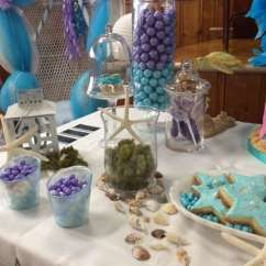High Chair Decorations 1st Birthday Boy Kid Desk Under The Sea Baby Shower Party Ideas | Photo 7 Of 17 Catch My