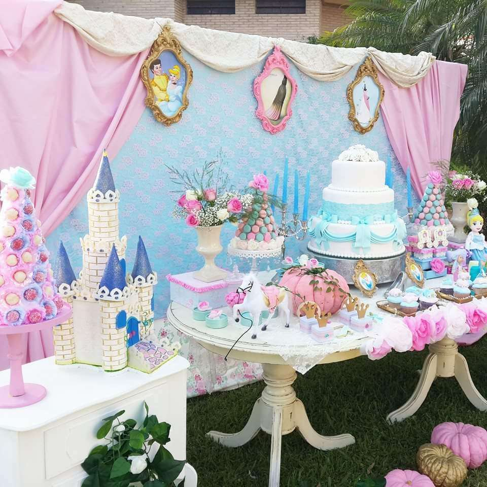 Cinderella Birthday Party Ideas Photo 8 Of 21 Catch My