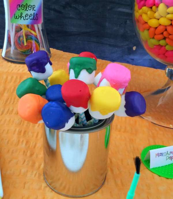 Art Party Birthday Ideas 2 Of 28 Catch