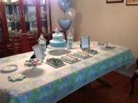 Baby Dedication Baptism Party Ideas | Photo 5 of 8 | Catch ...