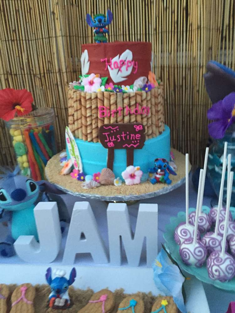 Lilo And Stitch Birthday Party Ideas Photo 1 Of 18