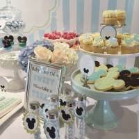 Baby Mickey Baby Shower Party Ideas | Photo 1 of 9 | Catch ...