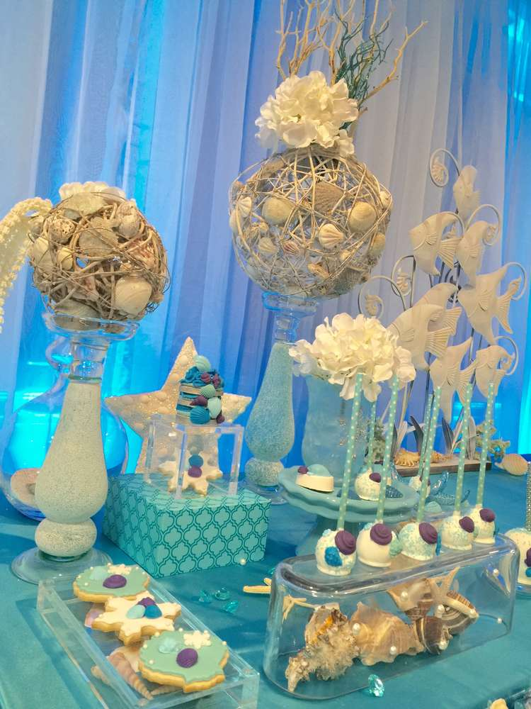 Winter And Under The Sea Quinceaera Party Ideas Photo 8