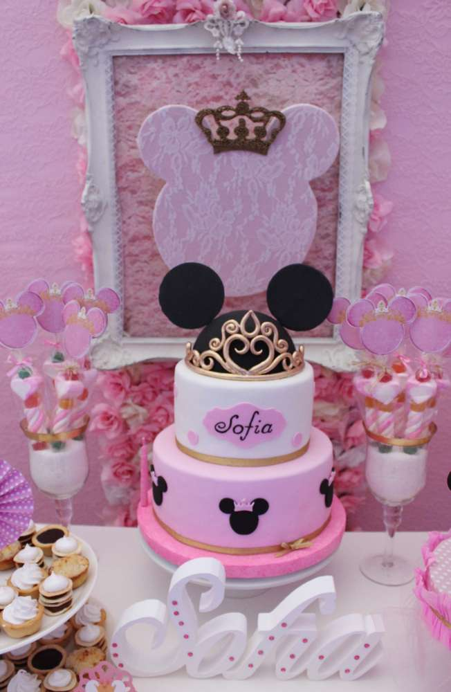 Minnie Mouse Baptism Party Ideas Photo 2 Of 16 Catch