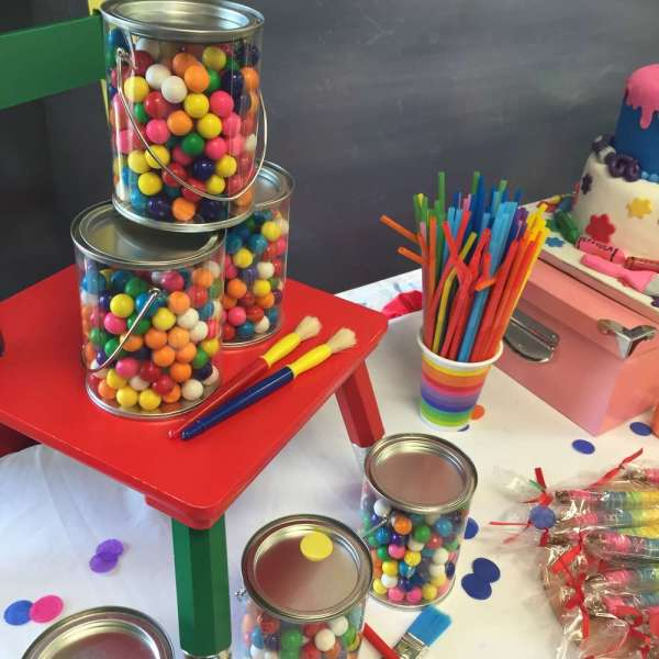 Art Painting Birthday Party Ideas 7 Of 30