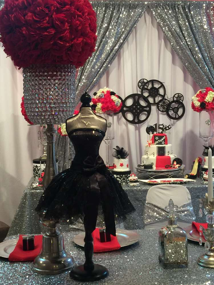 Hollywood Quinceaera Party Ideas  Photo 2 of 15  Catch