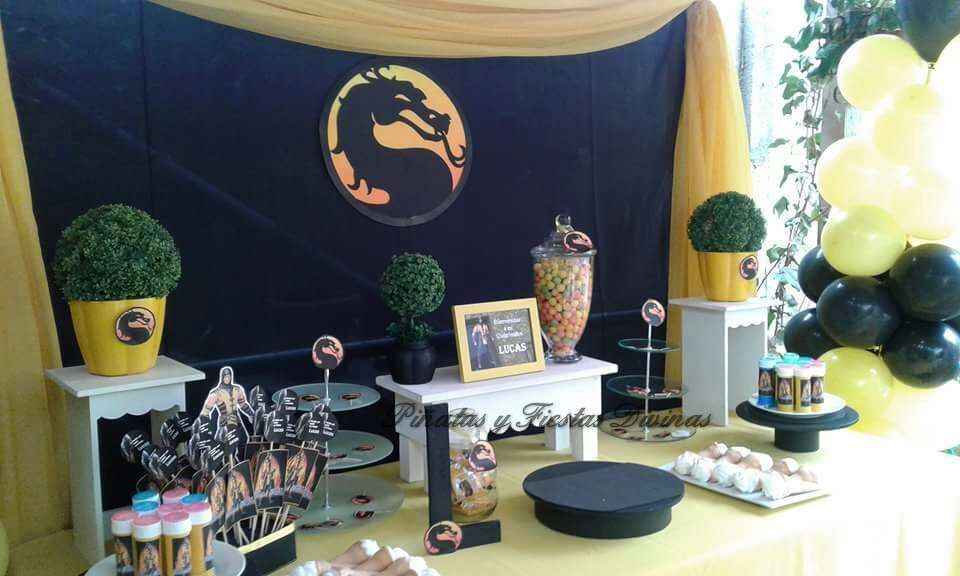 Mortal Kombat Birthday Party Ideas Photo 2 Of 13 Catch