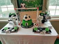 Sport/Soccer Baby Shower Party Ideas | Photo 4 of 17 ...