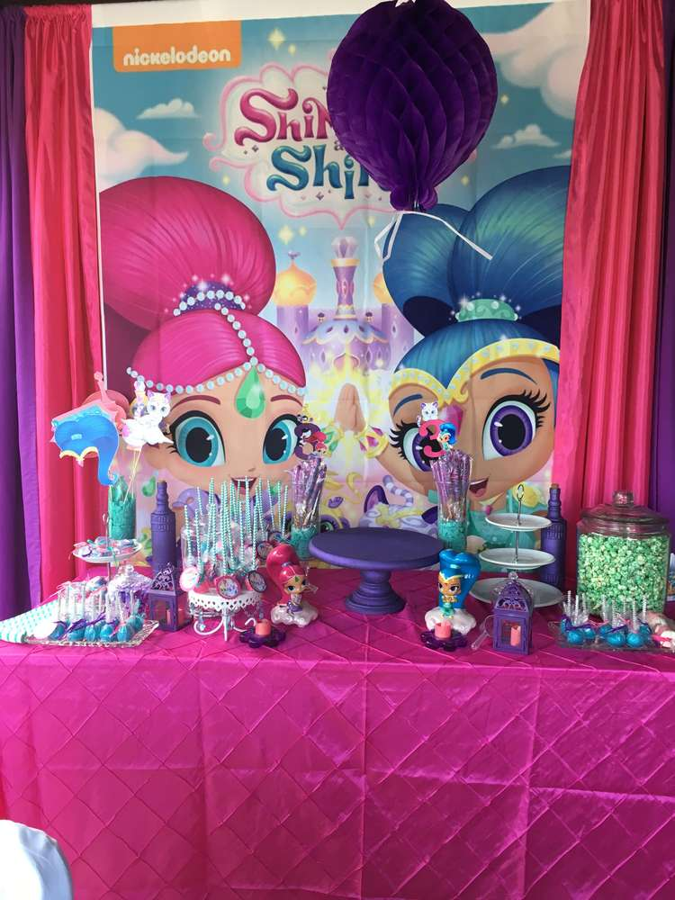 Fall Apples Wallpaper Shimmer And Shine Birthday Party Ideas Photo 1 Of 20