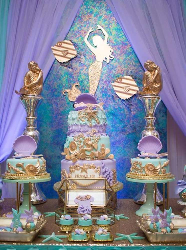 Under the sea Baby Shower Party Ideas  Photo 3 of 28
