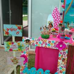 Alice In Wonderland Chair Round Bar Table And Chairs Moana Birthday Party Ideas | Photo 2 Of 17 Catch My