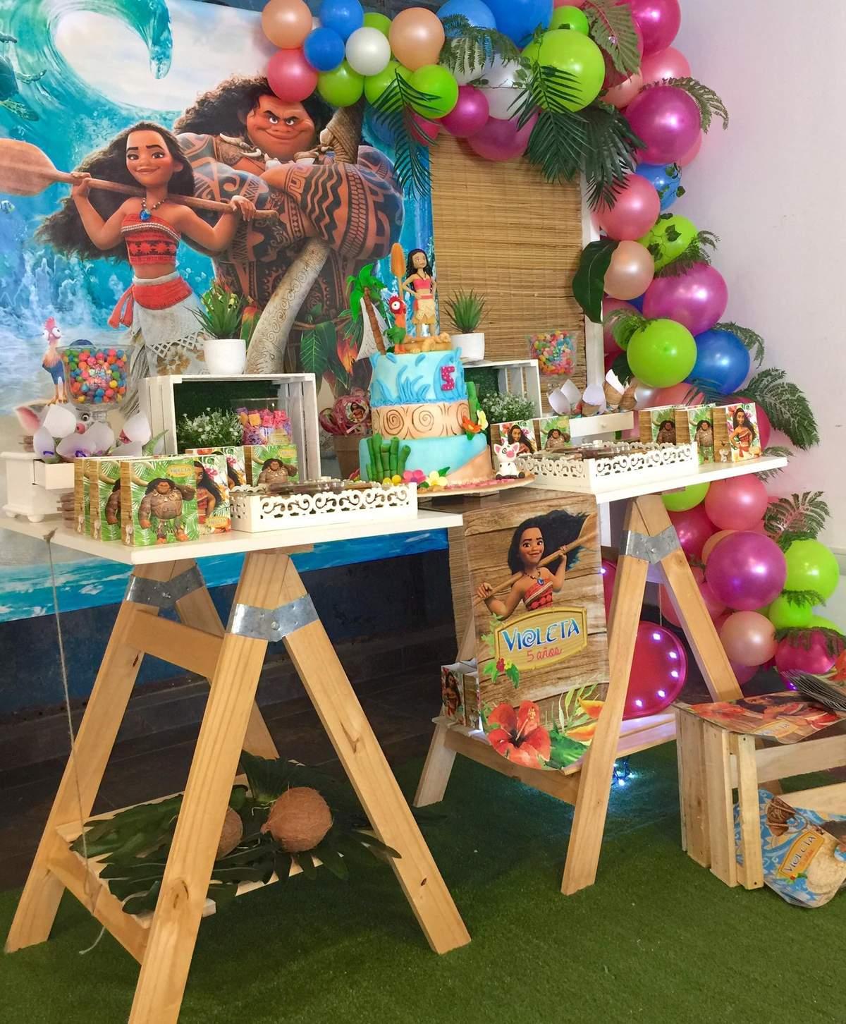 Moana And Maui Birthday Party Ideas Photo 1 Of 18