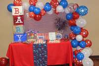 4th of July Baby Shower Baby Shower Party Ideas   Photo 9 ...