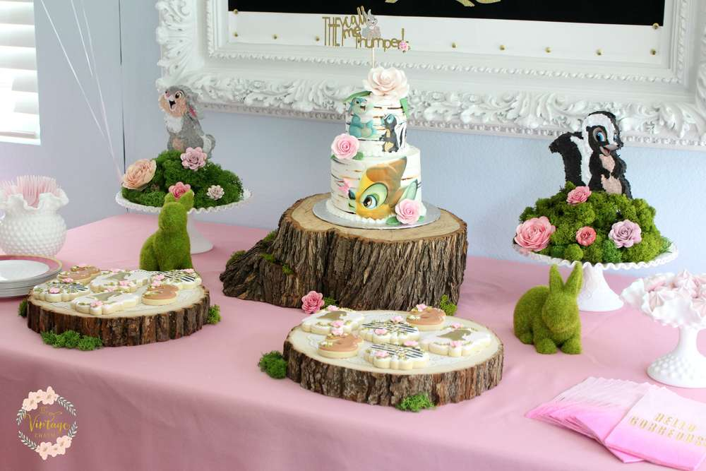 Bambi Inspired Birthday Party Ideas Photo 1 Of 35