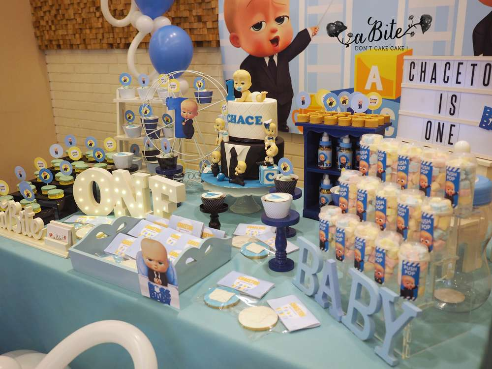 Boss Baby Birthday Party Ideas Photo 3 Of 9 Catch My Party