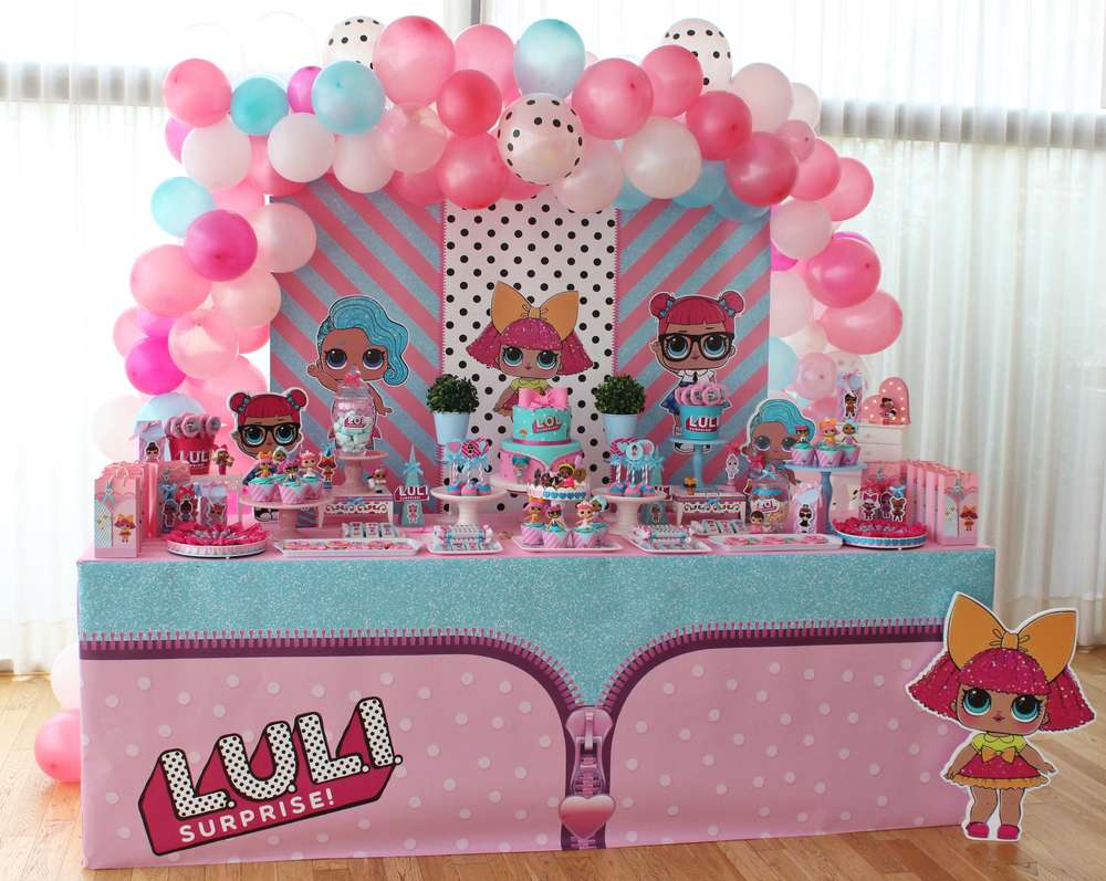 Lol Surprise Dolls Birthday Party Ideas Photo 7 Of 19 Catch My Party