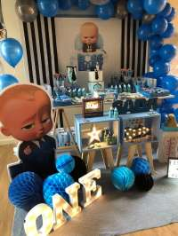 Baby Boss Birthday Party Ideas | Photo 1 of 9 | Catch My Party