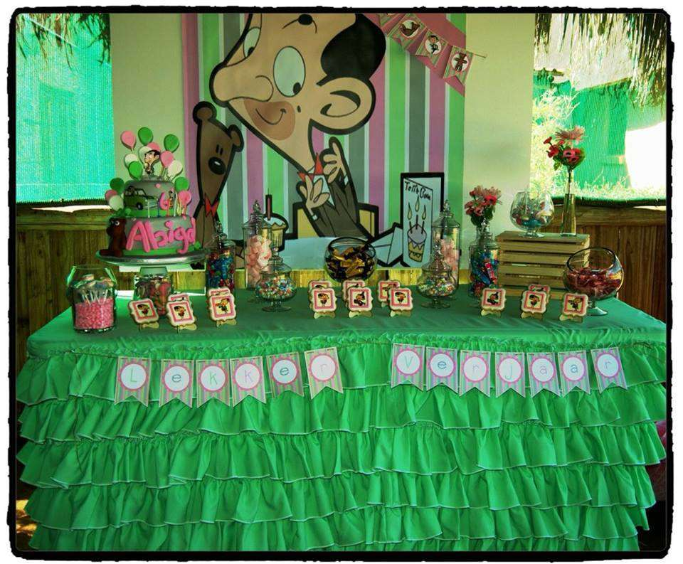 Mr Bean GIRLY Birthday Party Ideas  Photo 2 of 19  Catch