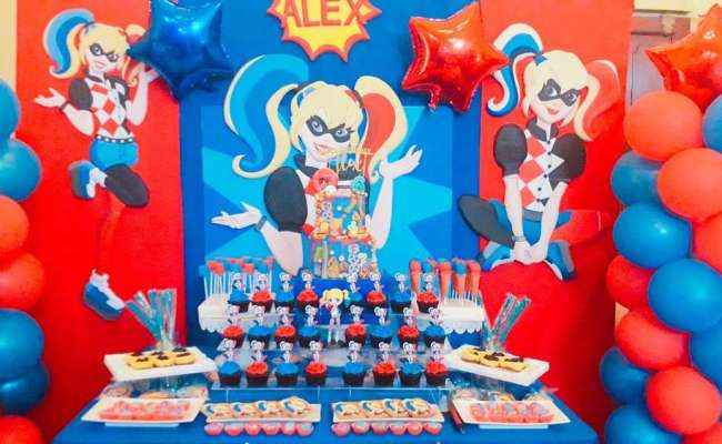 Harley Quinn Birthday Party Ideas Photo 5 Of 10 Catch