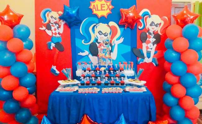 Harley Quinn Birthday Party Ideas Photo 10 Of 10 Catch