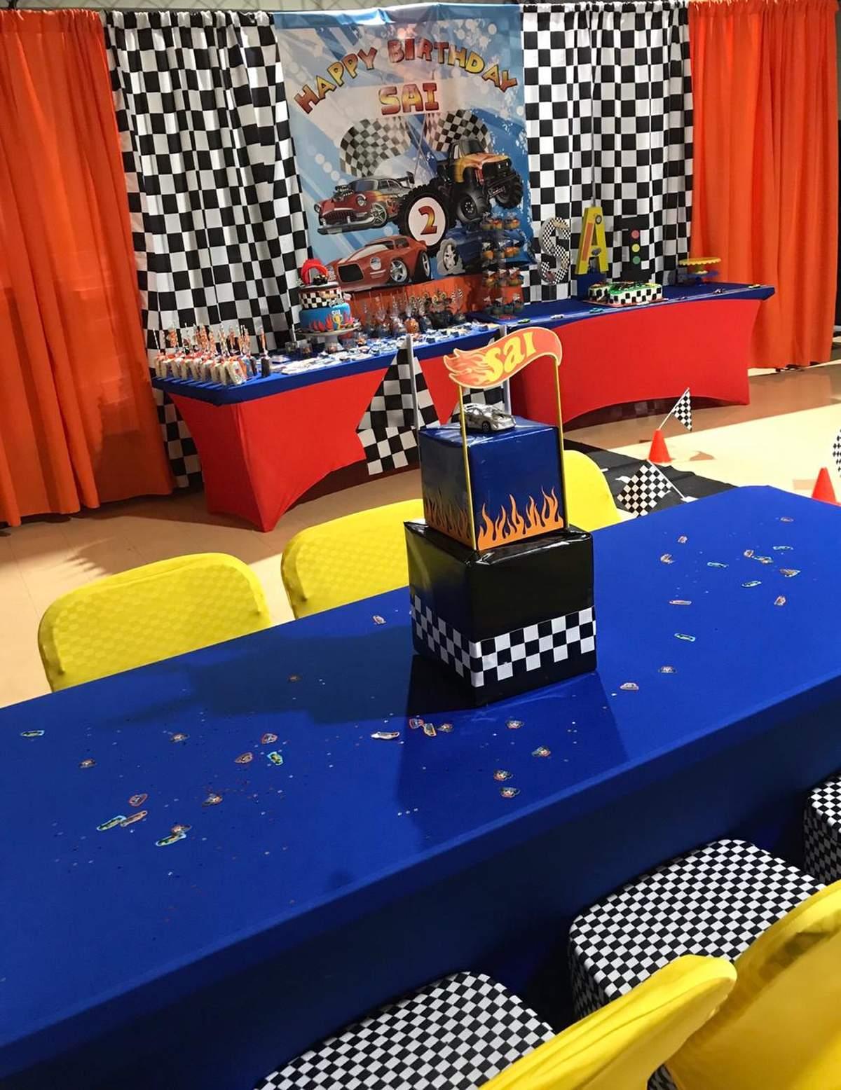 hot wheels birthday party ideas photo