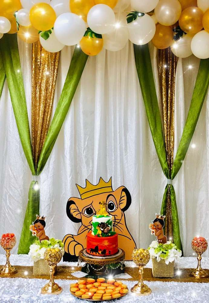 """King Baby Shower Themes : shower, themes, """"Hakuna, Matata"""", Shower, Party, Ideas, Photo, Catch"""