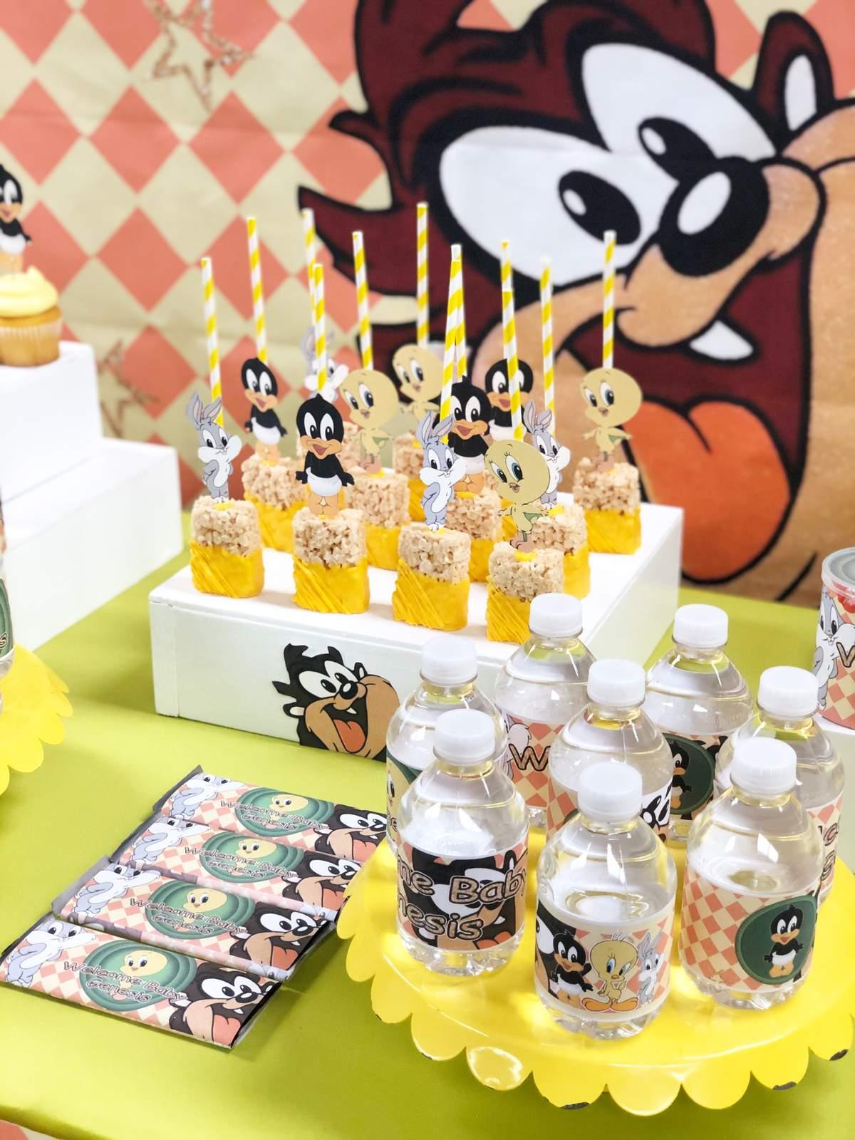 Baby Looney Tunes Theme Baby Shower : looney, tunes, theme, shower, Looney, Tunes, Shower, Party, Ideas, Photo, Catch