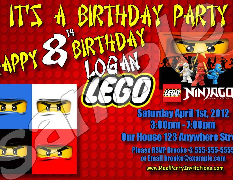 lego ninjago party birthday party ideas