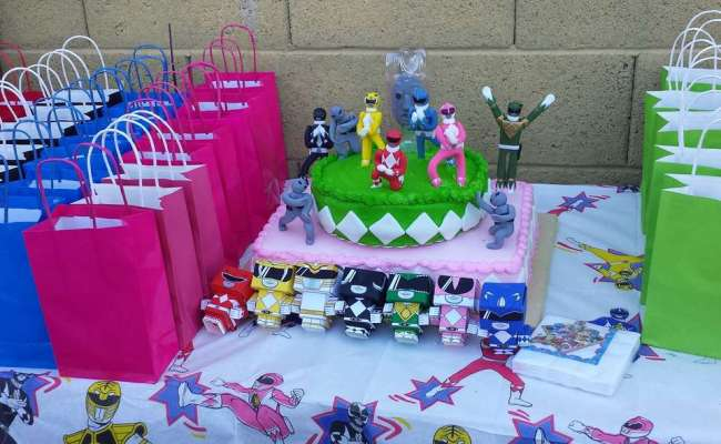 Mighty Morphin Power Rangers Birthday Its Morphin Time