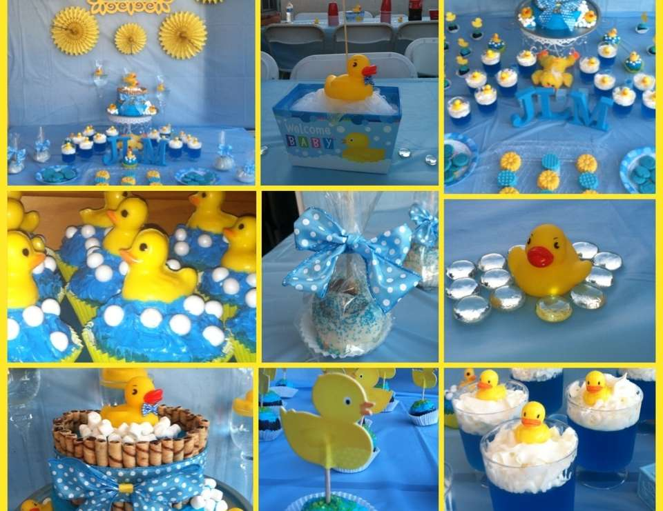 """Rubber Duckies / Baby Shower """"Cindy's Rubber Duckie"""