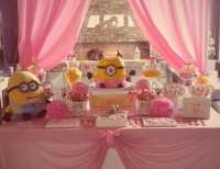 "Minion girl / Birthday ""Princess Minion"" 
